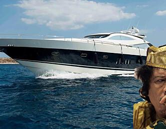 Gaddafis luksusskip over på hydrogen