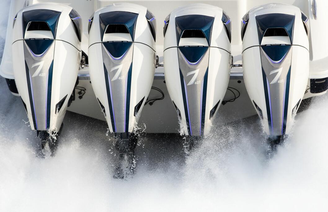 VOLVO-MOTORER: De skal fortsatt hete 7 og være verdens største utenbordsmotorer, men nå er Volvo Penta hovedeier.