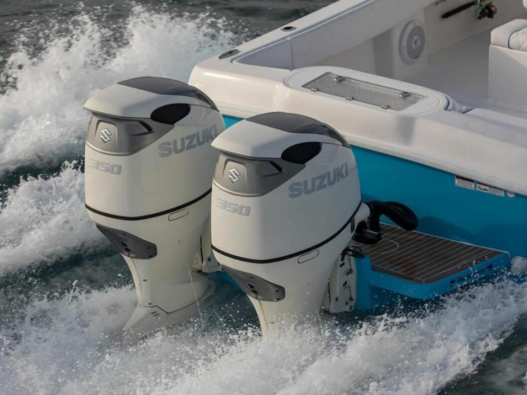 350 HK: Suzukis nye V6 med duoprop