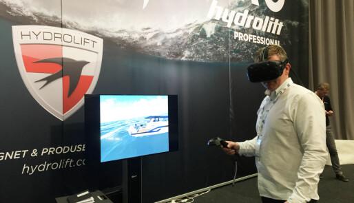 Virtuelt besøk i nye Hydrolift P42