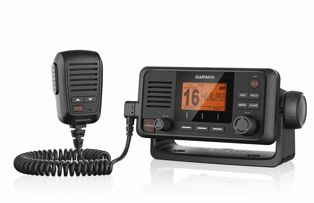 Garmins nye VHF byr på det meste av funksjoner.