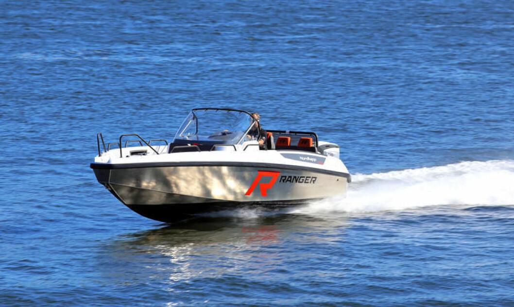 NYHET: Enduro 705 Ranger er tredje båt bygget på aluminiumsskrog fra Nordkapp.