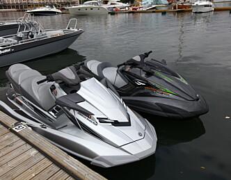 Vannscootere likestilles med båt