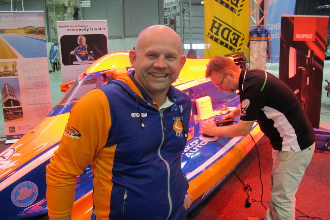 COMEBACK: I år skal Frode Sundsdal  tilbake i F2-båten sin. (Foto: Amund Rich.Løken).