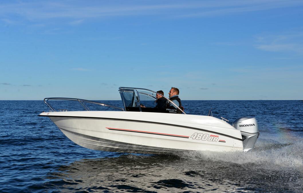 MICORE: Lanserer liten familiebåt på 4,80 meter. Også det bowrider.