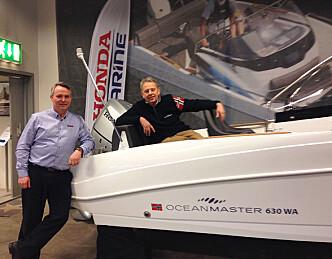 OceanMaster rigges med Honda