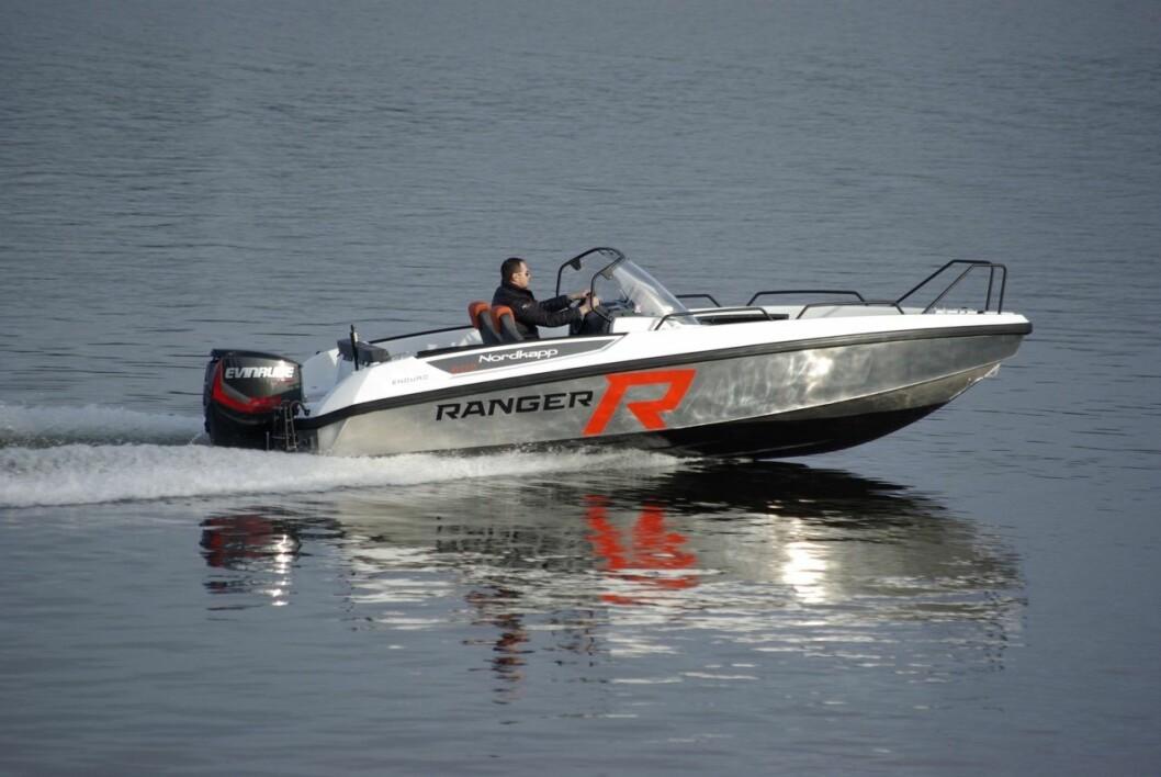 RANGER: Nordkapp lanserer to båter i 605-serien med aluminiumsskrog.