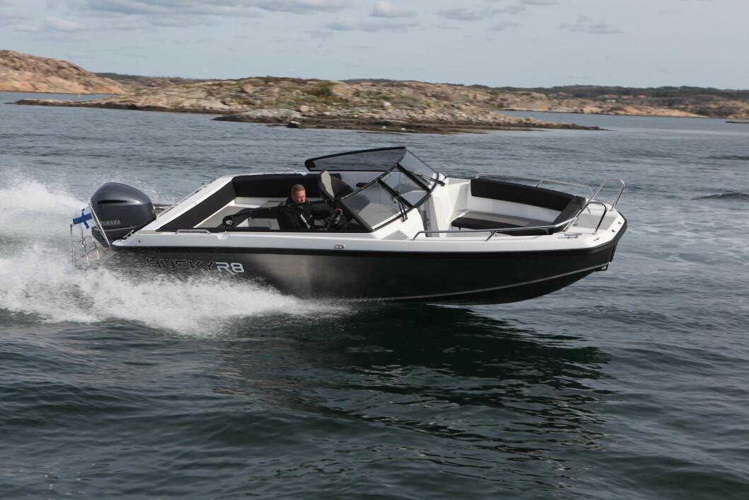 Finnmaster Husky 5 er en av de tre nye, overraskende modellene fra den finske produsenten.(Foto: Atle Knutsen)