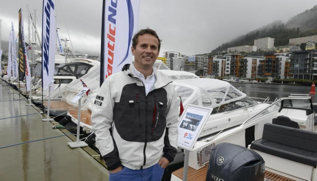 EKSPANDERER: Ørjan Wollertsen fra Nautic Norway vokser og satser i Oslofjorden og Stavanger.