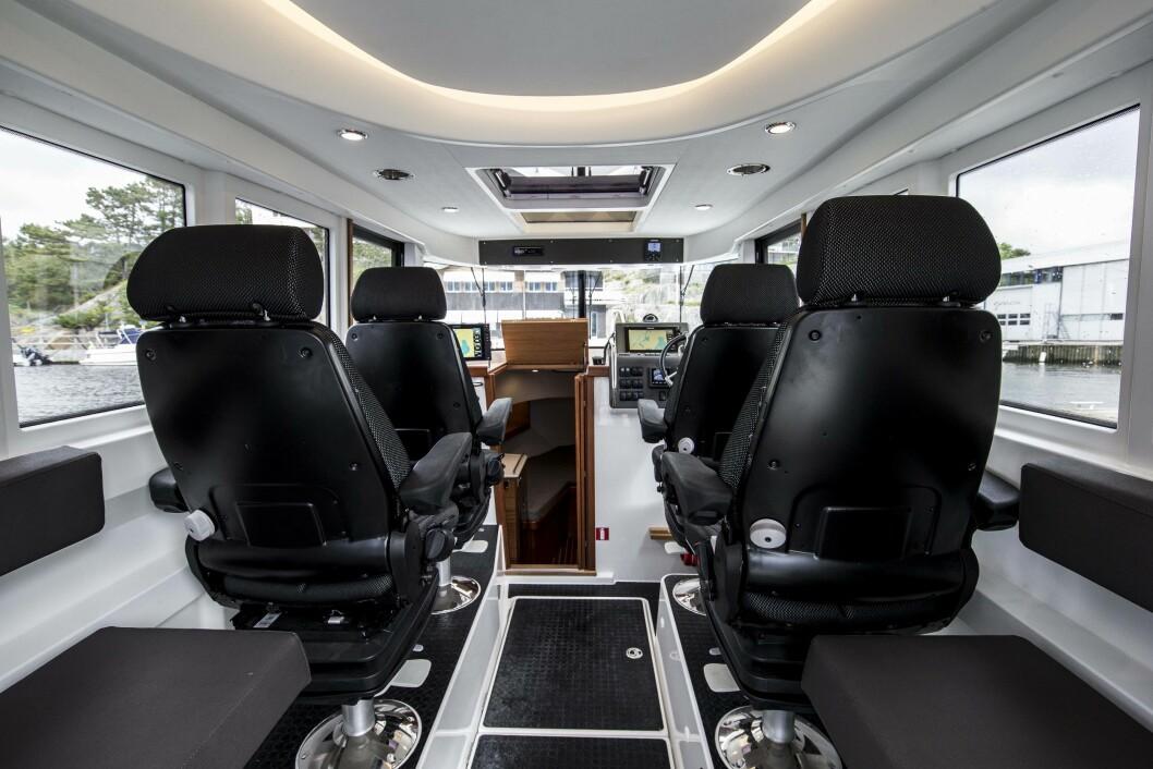 KAN TILPASSES: Produsenten legger opp til mer kundetilpasset interiør i den nye 31-foteren.