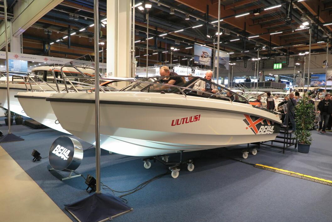 "THORUP: Espen Thorup er mannen bak Bella 600 BR som er nominert til ""European Powerboat of the year"" i klassen under 25 fot."