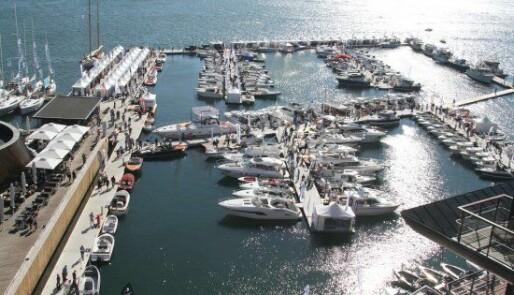 Klart for flytende båtutstilling i Oslo