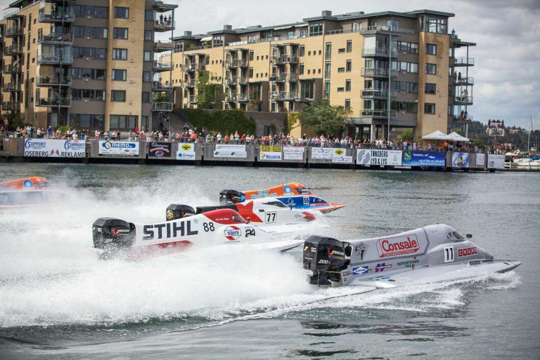 VM-RUNDE: Det blir fart og spenning hele helgen i gjennom i Tønsberg.