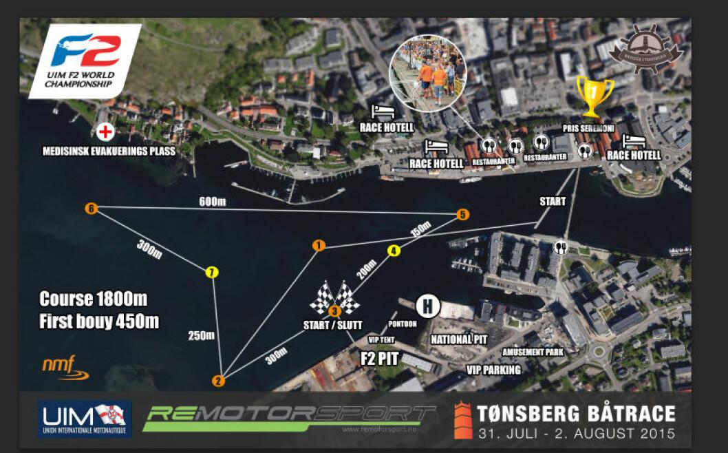 PUBLIKUMSVENNLIG: Lørdag og søndag skal det kjøres VM-runde i Tønsberg.