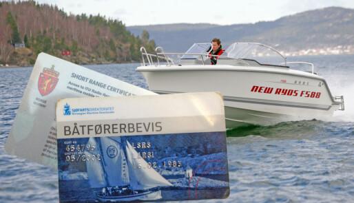 Supertilbud på båtførerkurs