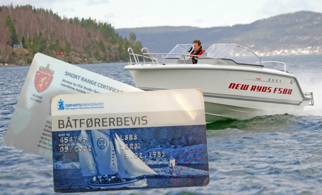 Erfarne kursholdere er kritiske til enkelte spørsmål i den nye båtførerprøven.