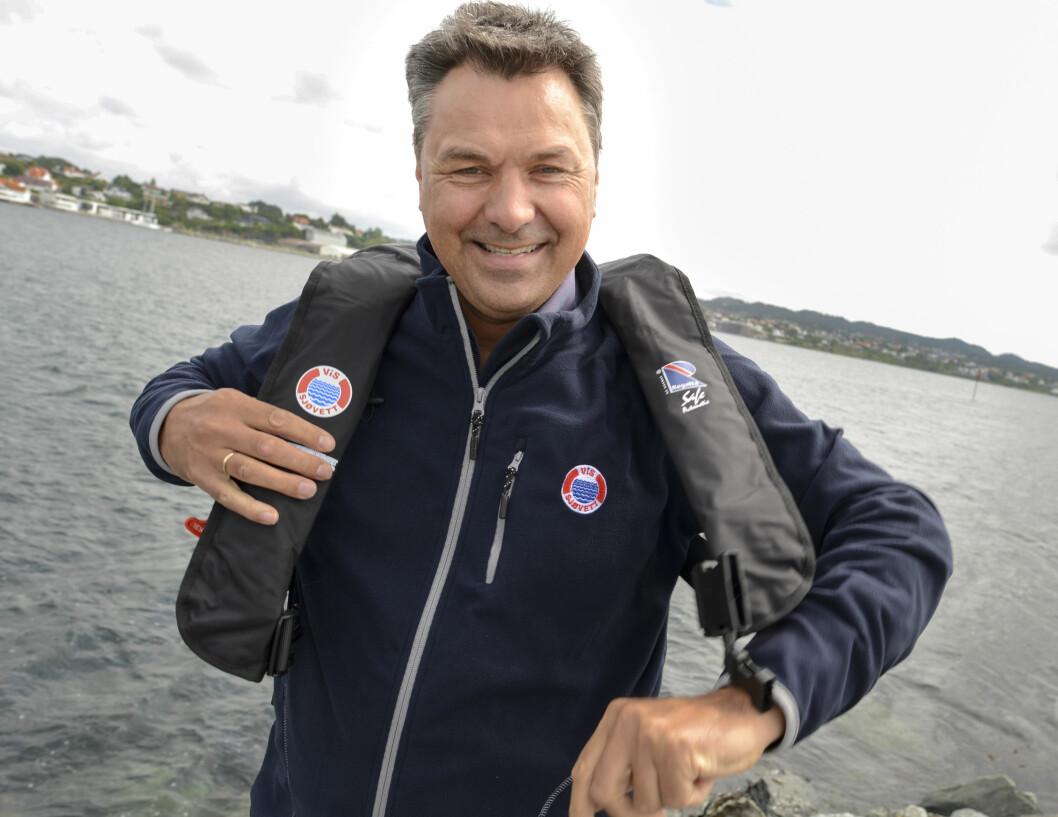 RIKTIG: Sjøfartsdirektør Olav Akselsen mener vestpåbud er en riktig vei å gå for å forebygge ulykker til sjøs. Foto: Steinar Haugberg.