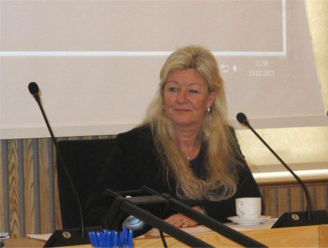 Initiativtaker til båtpolitisk seminar i Stortinget er Kari Raustein (FrP). Hun er selv ivrig fritidsbåtbruker.