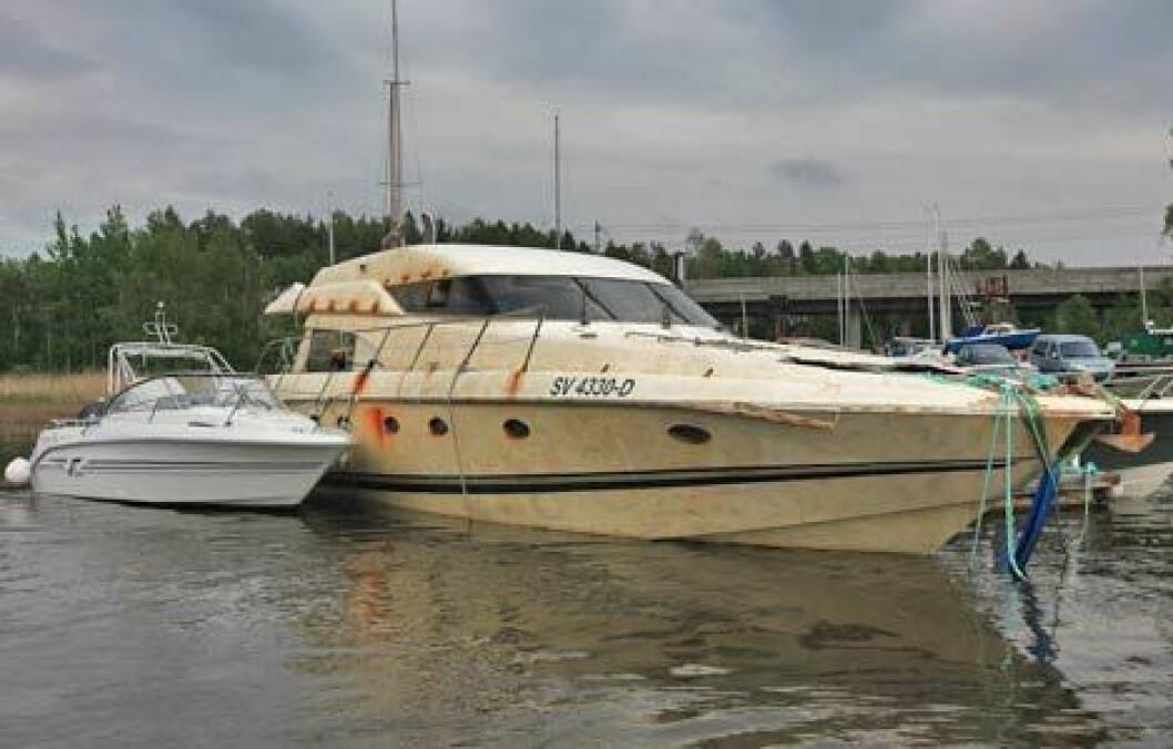 DØMT: Lagmannsretten har dømt to båteiere for forsikringssvindel.