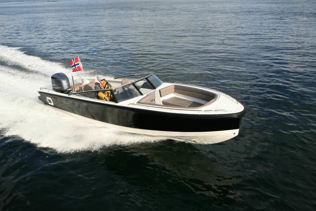 VANT: Draco 26 RS vant prisen som European Powerboat of the Year i klassen opp til 35 fot.