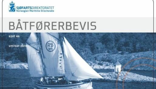 Nytt pensum til båtførerprøven