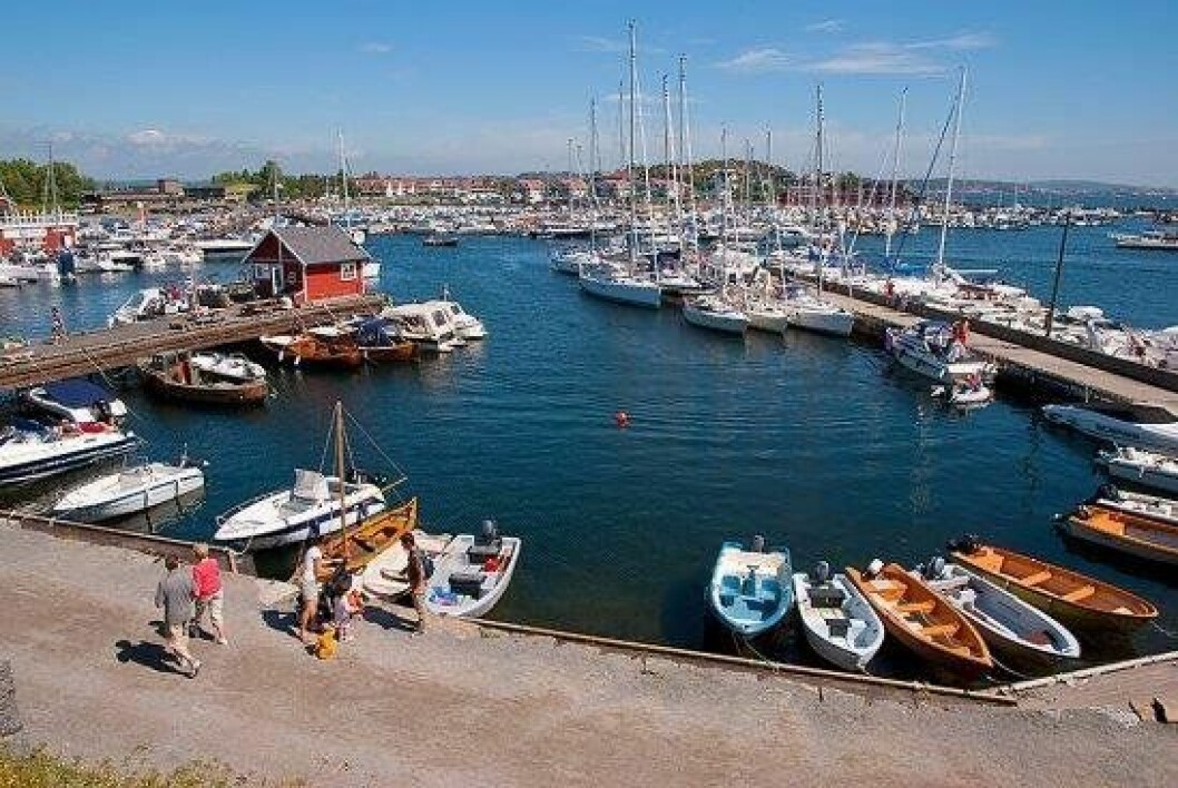 Stavern gjestehavn i Vestfold