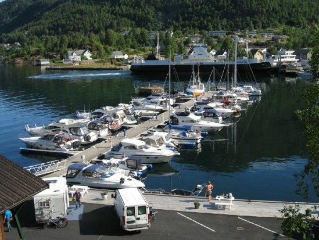 Jondal gjestehavn i Hardanger