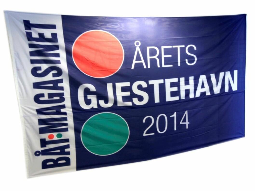 Leserne våre kårer Årets Gjestehavn 2014. Hvilken havnesjef skal heise dette flagget? Du bestemmer.