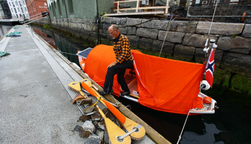 Med robåt fra Svelvik til Namsos