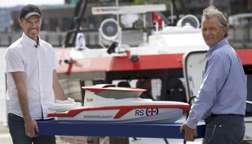 Hydrolift bygger for Redningsselskapet