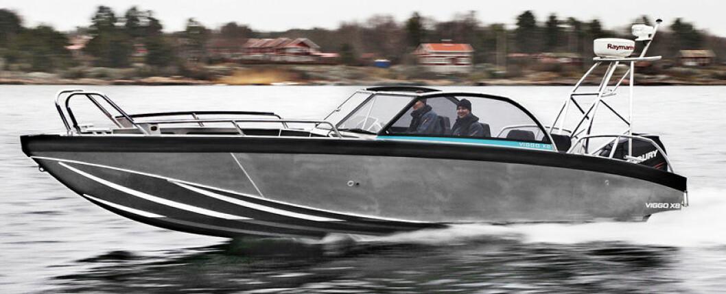 KONKURRENT 3: Viggo boats. Ikke helt sammenlignbar størrelsesmessig, men konseptet er mye av det samme.