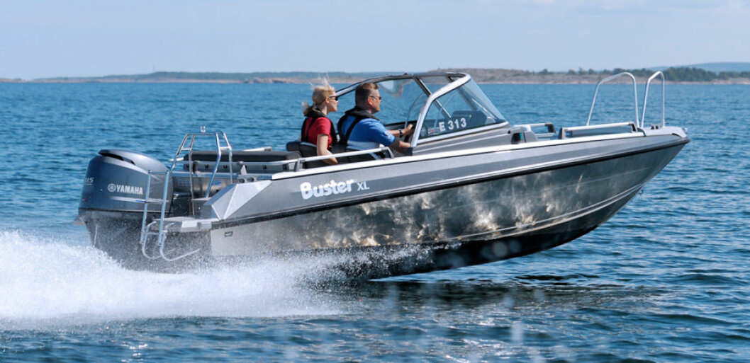FINSK ALTERNATIV: Buster XL er en populær båt i Norge. Marell ønsker å være et røffere alternativ til Buster.