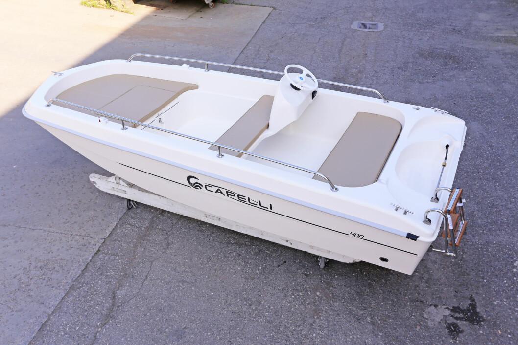 TILBAKE: Capelli 400 gjenoppstår med nye farger og oppdaterte løsninger.