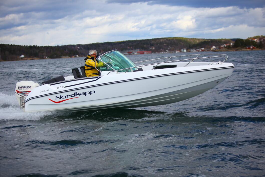 VINNER IGJEN: Nordkapp boats AS har blitt tildelt Merket for god design for sin skjærgårdsjeep 605 Enduro.