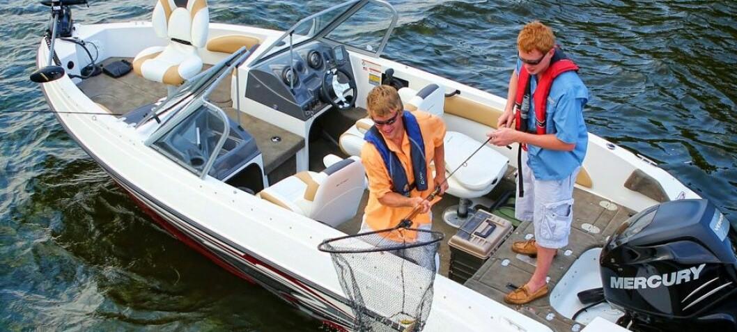 Fiskebåt på amerikansk