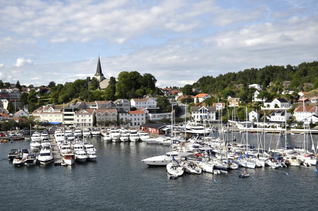 SØRLANDSHAVN: Grimstad er blant de nominerte havnene.