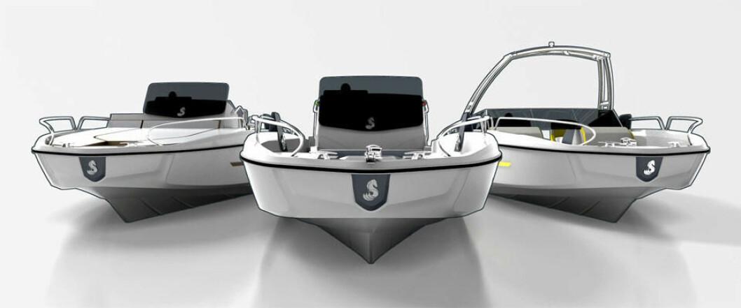 Beneteau Flyer 6 kommer i tre versjoner.