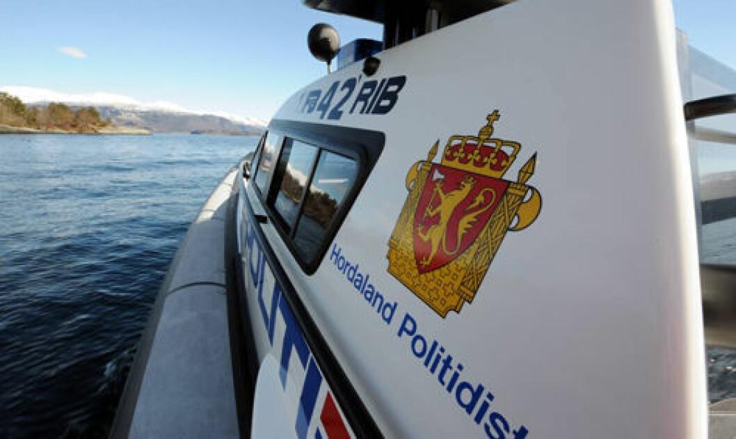 STOPPET: Topplederen fikk en brå slutt på ferden etter at han ble stoppet av politiet i Hordaland. Illustrasjonsbilde
