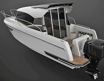 Sportslig styrhusbåt fra Askeladden