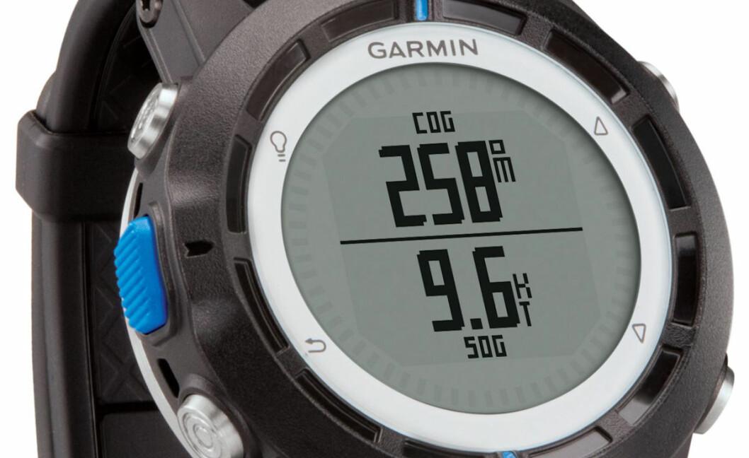 KAN HA FEIL: Garmin velger å tilbakekalle alle Quatix-klokkene grunnet batterifeil.
