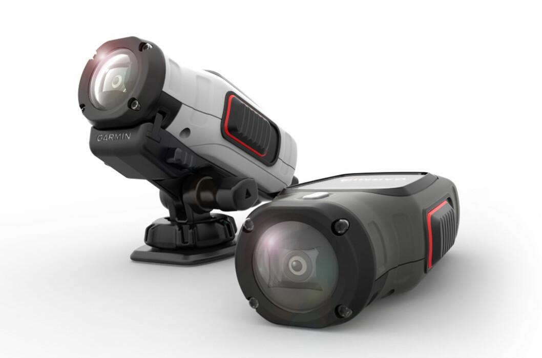 VIRB-kameraene fra Garmin er vantette og leverer i tillegg til HD-bilder informasjon om fart, kurs og posisjon.