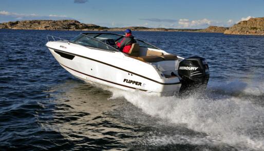 Flipper 640 DC – komfortbåten