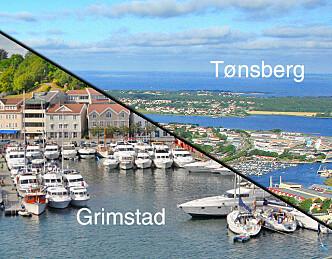 Sesongåpning i Grimstad i Tønsberg