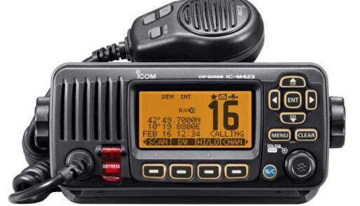 Icom IC-M423 stopper støyen