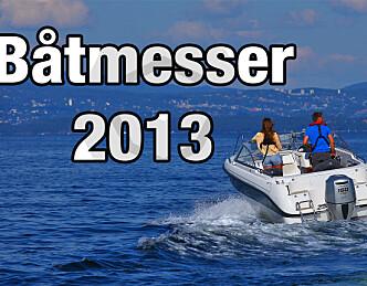 Alle årets båtmesser - 2013
