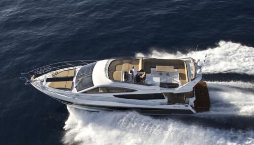 Galeon lanserer ny flybridgebåt