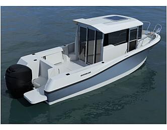 Quicksilver lanserer styrhusbåtserie