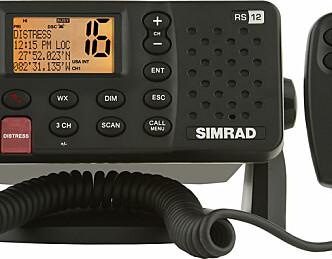 Ny VHF fra Simrad