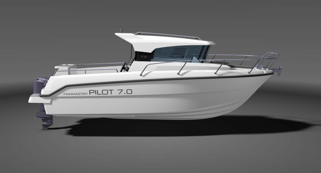Slik vil nye Finnmaster PILOT 7.0 se ut.