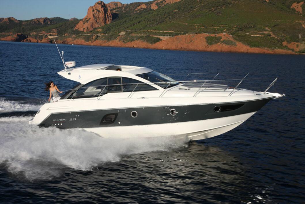 Modellvalget som Aaby Marine vil ta inn er ikke fastlagt ennå, men Beneteau Gran Turismo 38 er en høyaktuell modell.